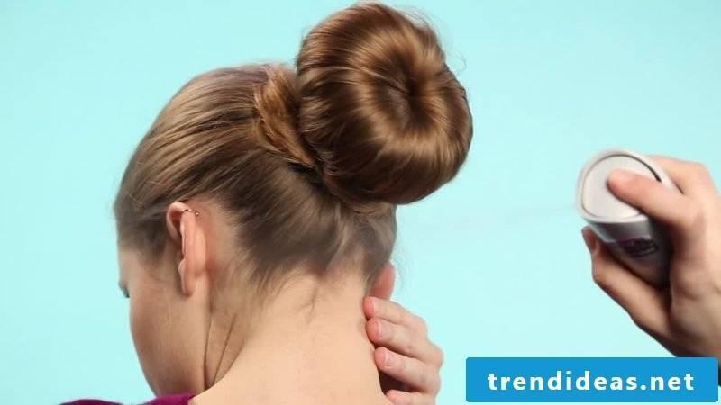 Updos just classic bun