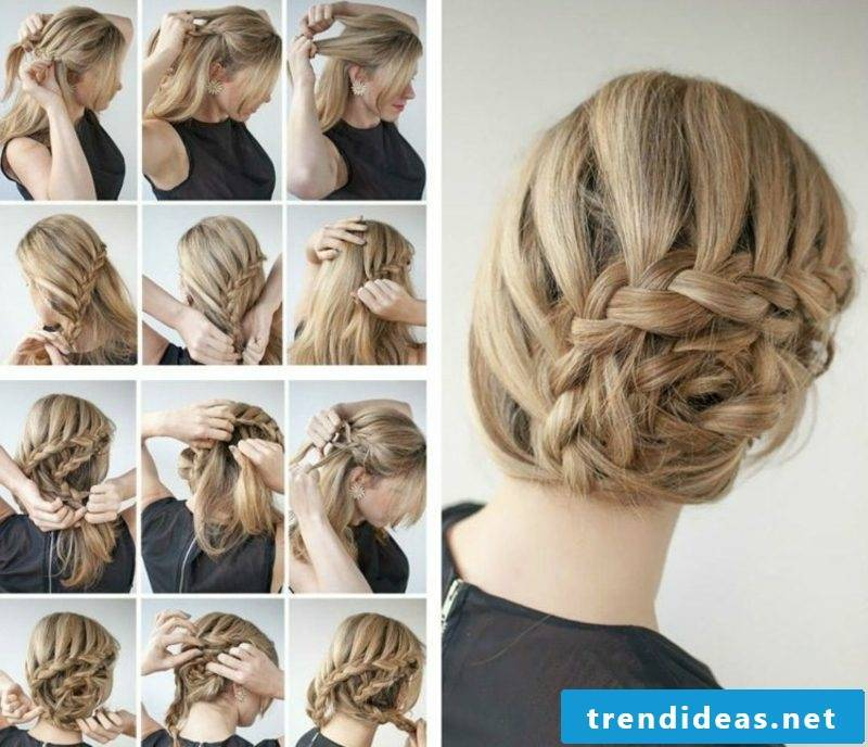 braided updo instructions