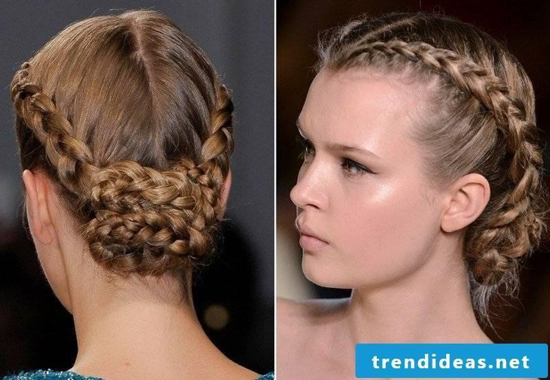 high-set hair elegant braiding