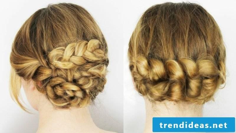 high braided hairstyles