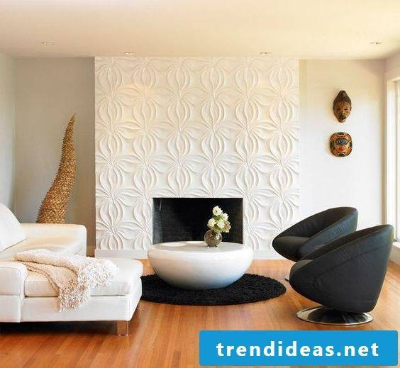 Living room furnishing ideas furniture in white