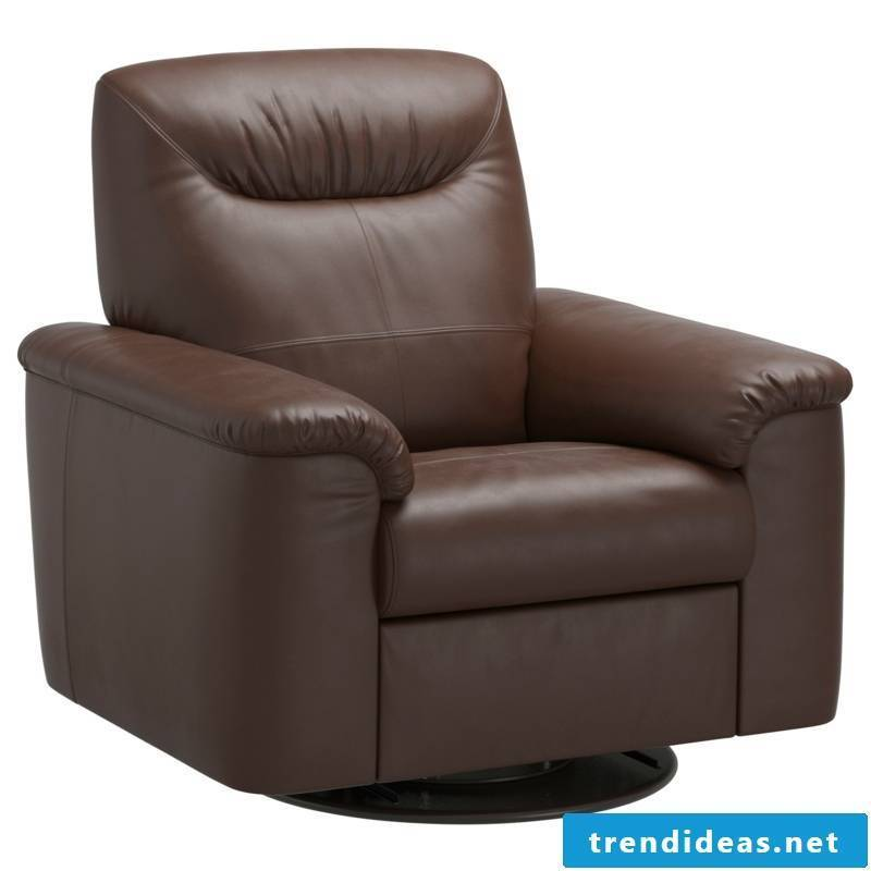 massive leather chair