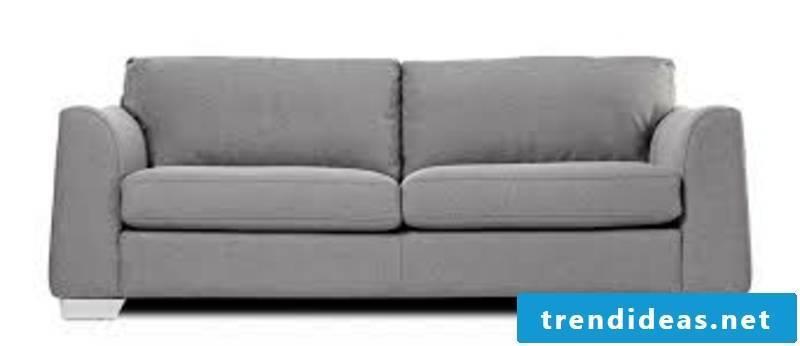 massive sofa in gray