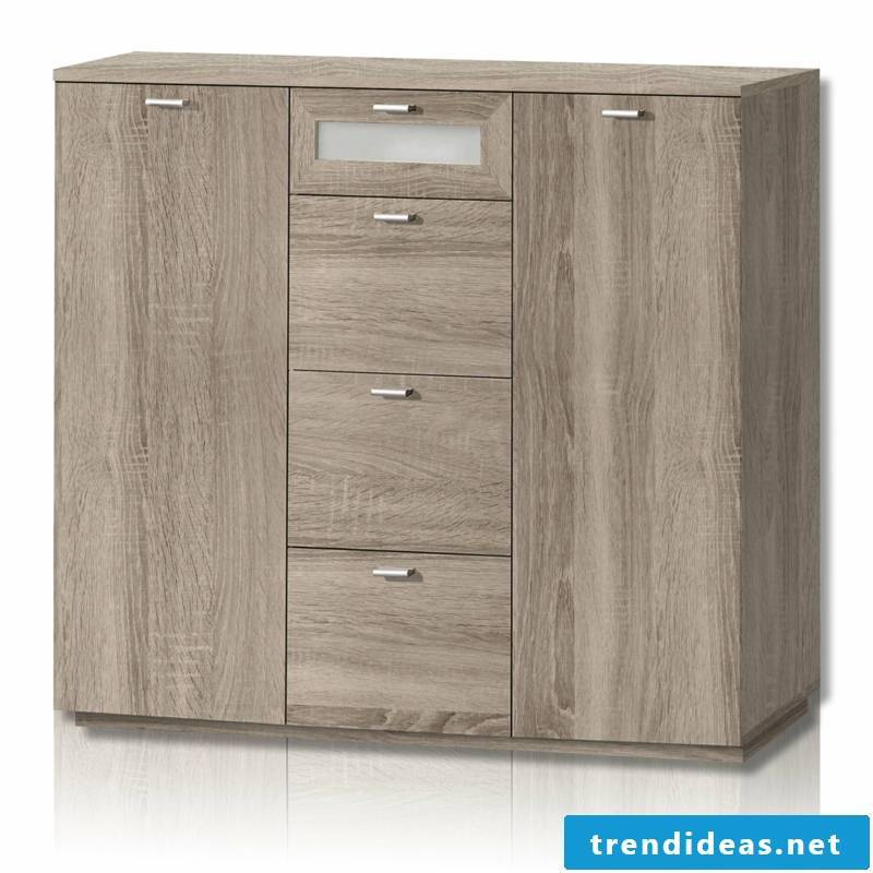 massive chest of drawers in brown
