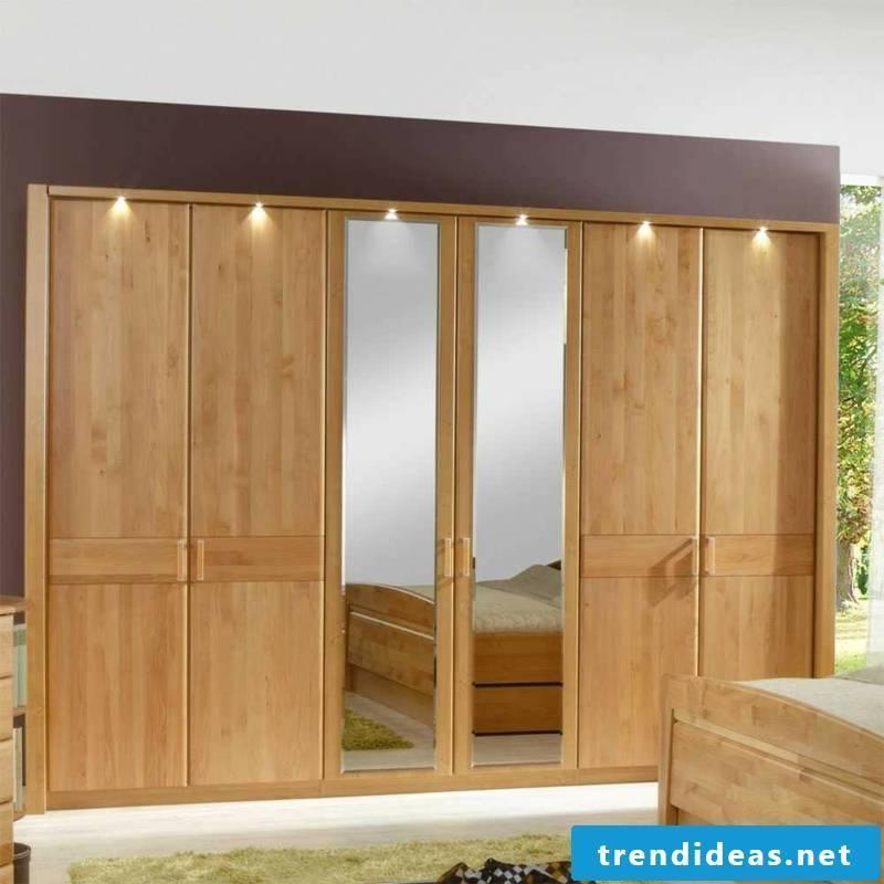 massive wooden wardrobe