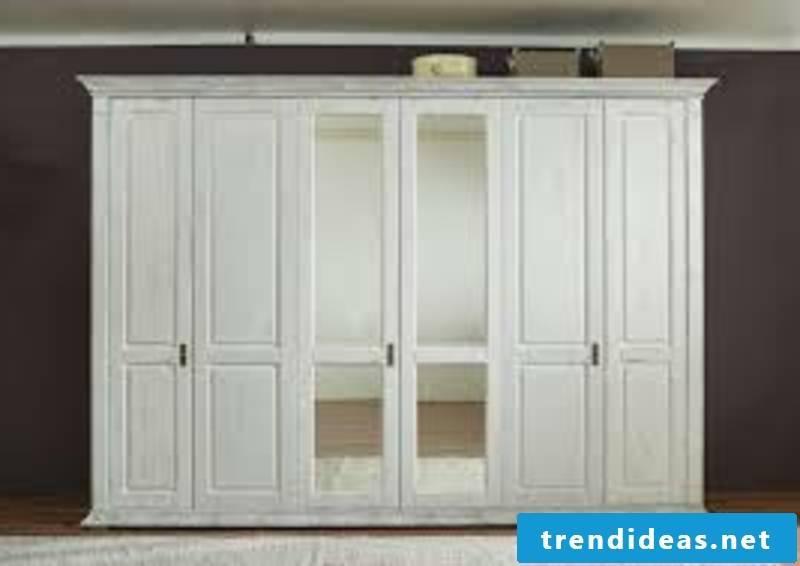 massive wardrobe in white