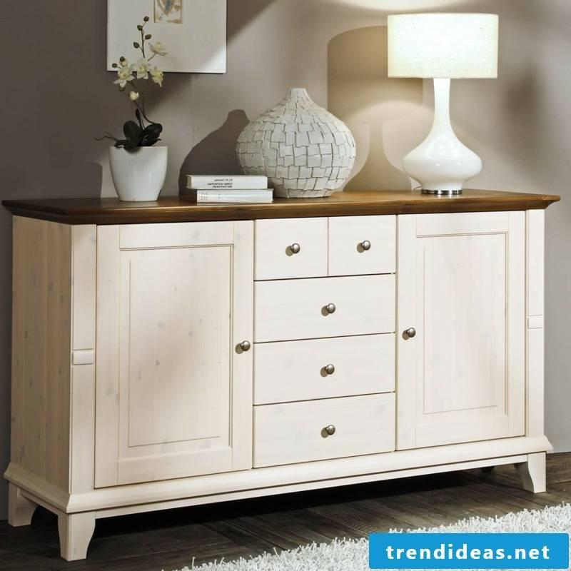 massive white dresser