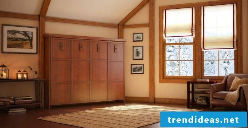 Wall bed cupboard