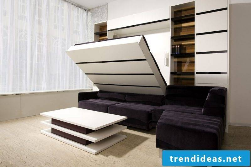 Wall bed Murphy bed