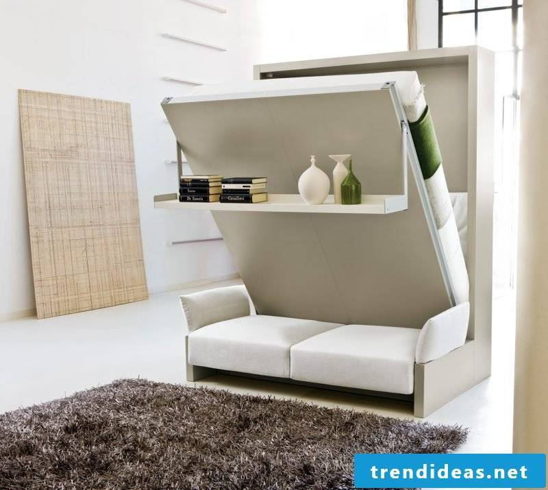 Wall bed opening