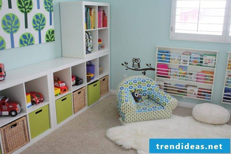 Nursery carpet in modern style