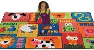 Spielparadies: 22 ideas for nursery carpet
