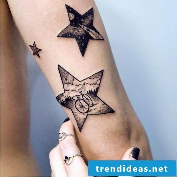 star tattoos women tattoos men tattoo ideas