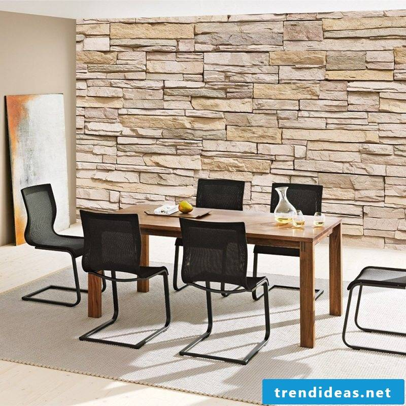 stone look wall price