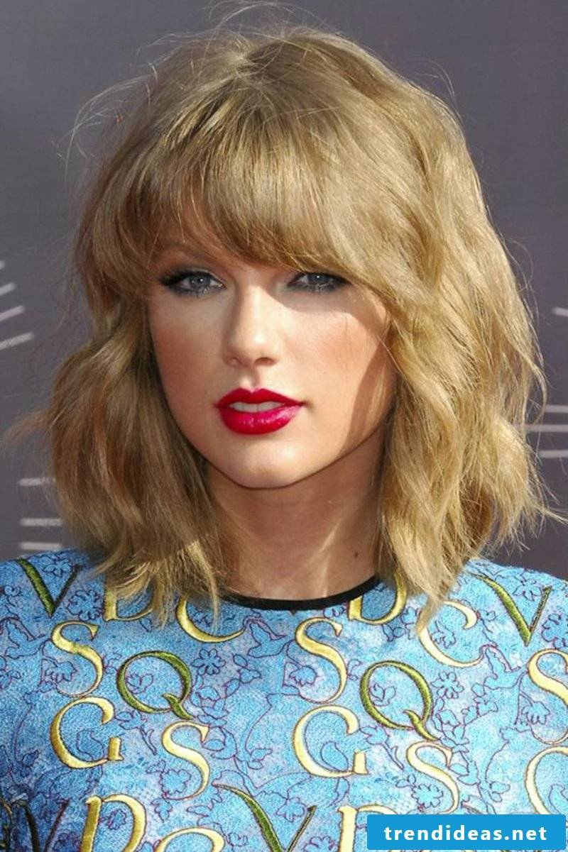 Shorthair Hairstyles for Fine Hair Taylor Swift Shag Hairstyle