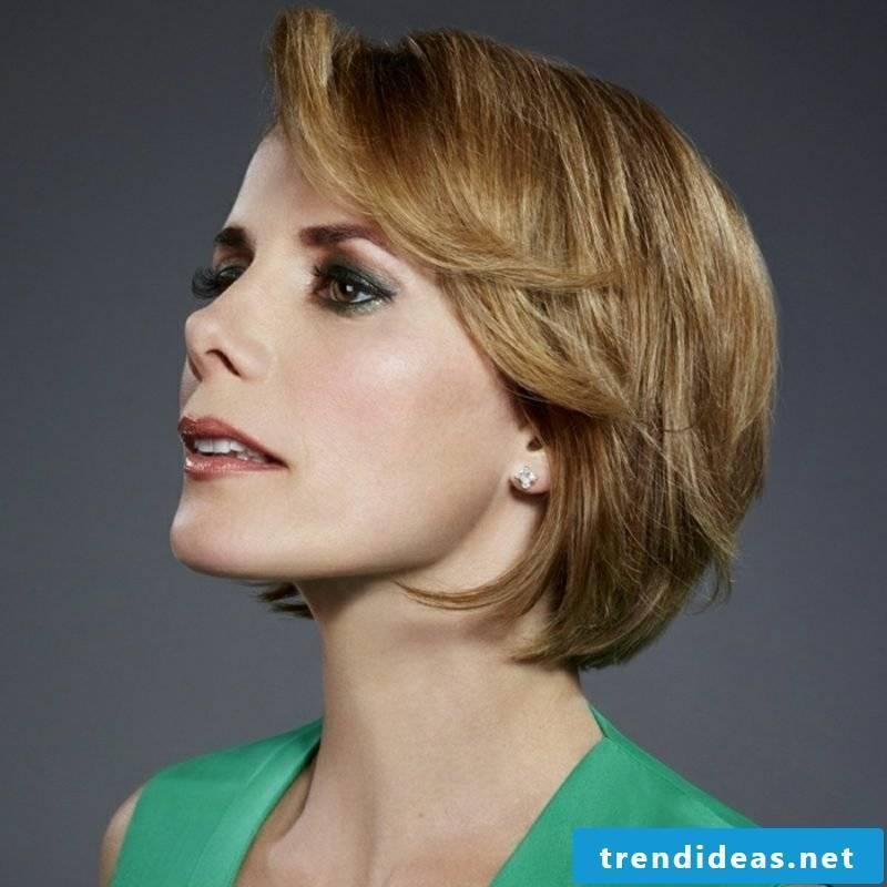Short hairstyles for fine hair ladies