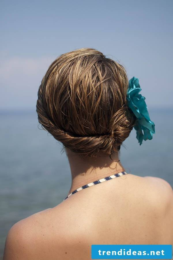 Beach hairstyles for the summer