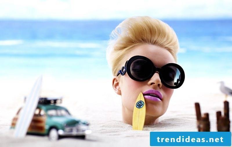 Sun and beach beach hairstyles ideas
