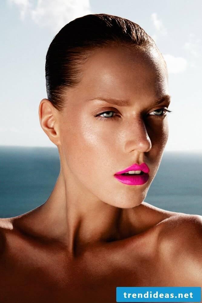 Beach and sun make-up ideas