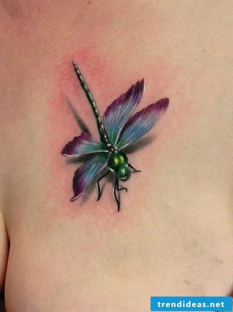 Tattoo dragonfly