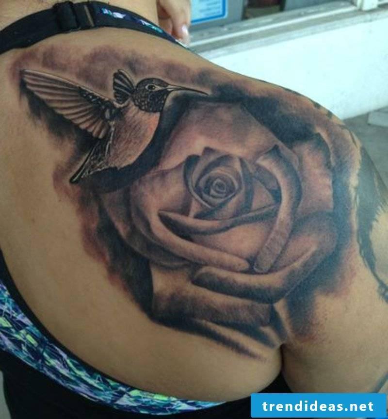 tattoo hummingbird