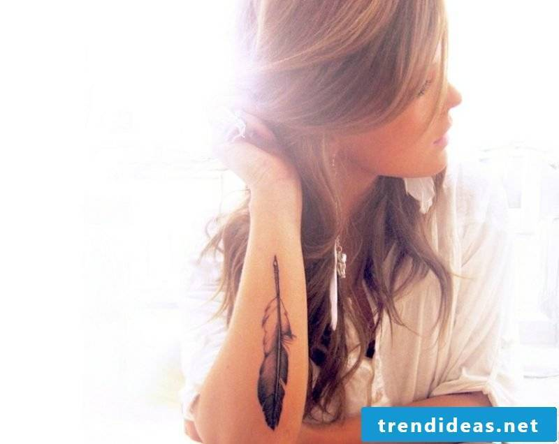 Tattoo on forearm original ideas women pen