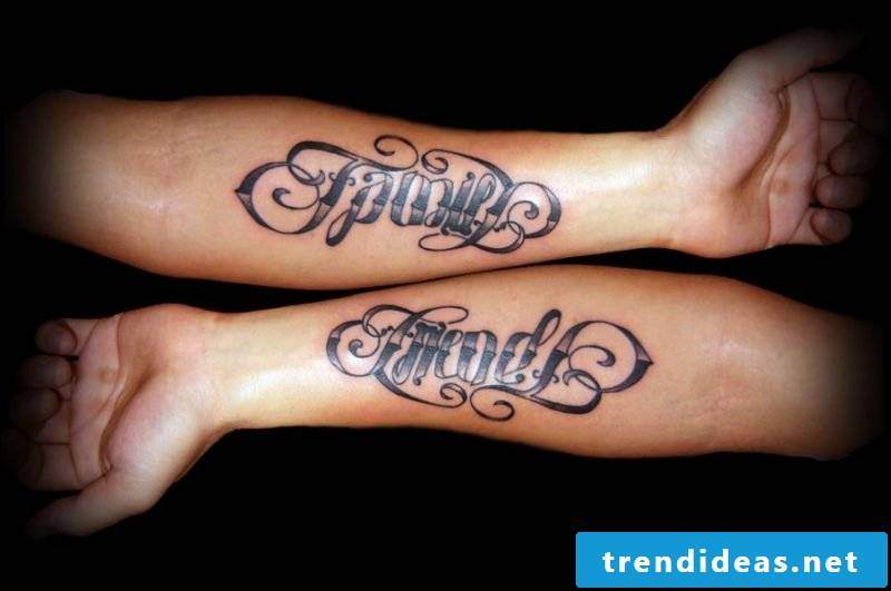 Tattoo lettering tattoos for women