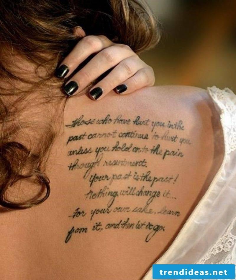 Lettering tattoo ideas