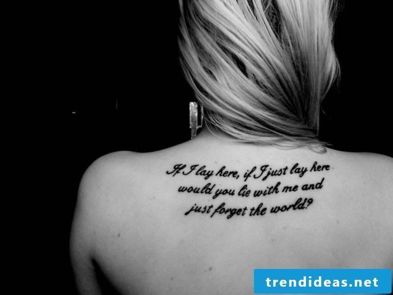 Tattoo font lettering tattoo