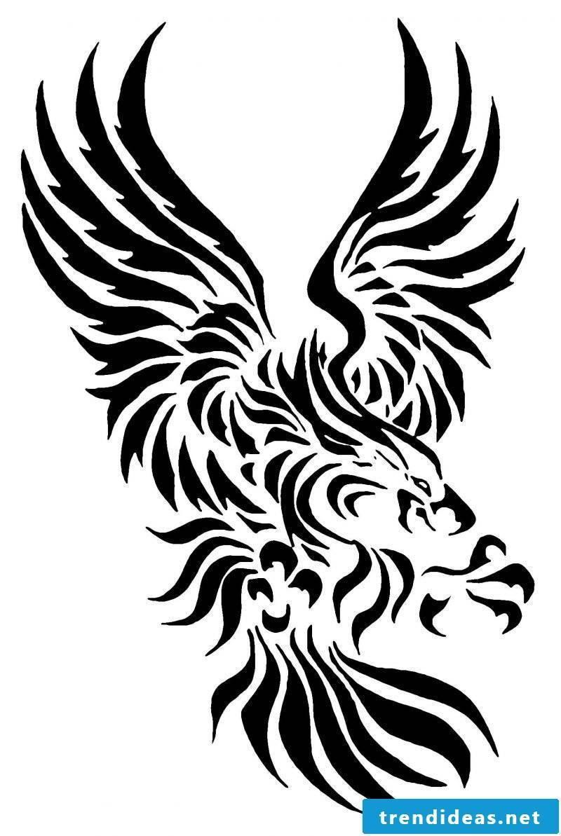Tattoo Templates: 60 Free Animal Motifs Tattoo Templates