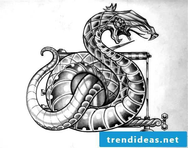 972485a118907 Tattoo templates: 60 free animal motifs tattoo templates