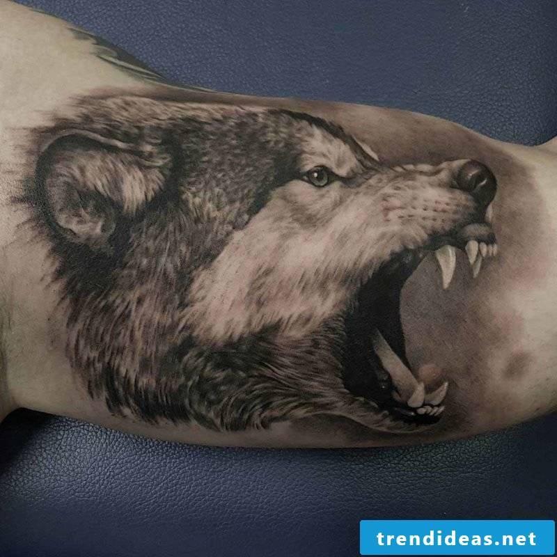 tattoo wolf tattoo motifs tattoos women tattoos men tattoo ideas small tattoos