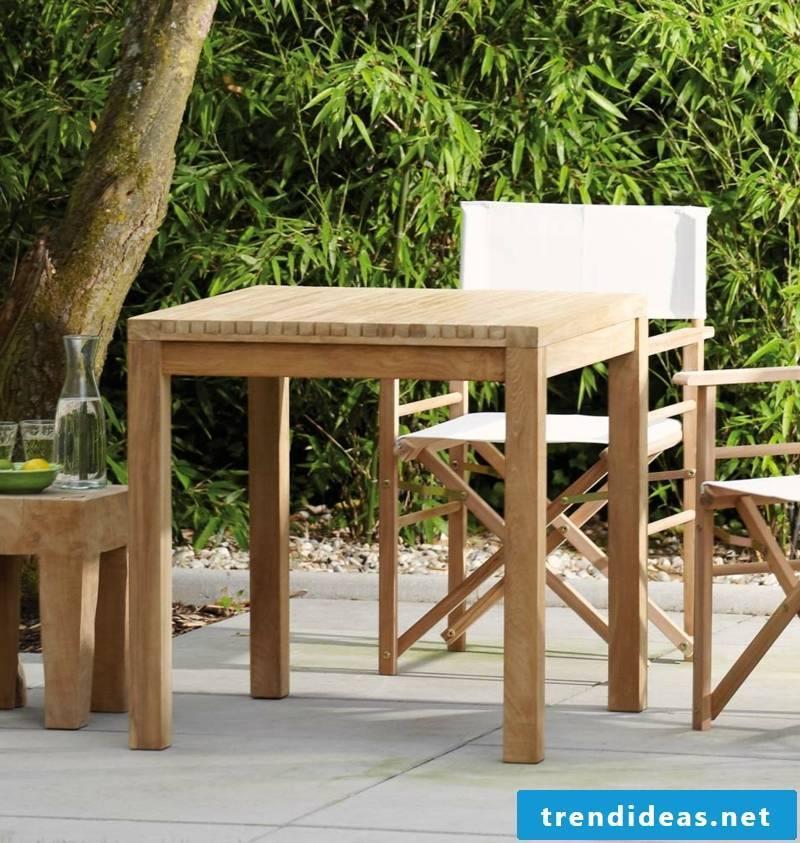 teak furniture table