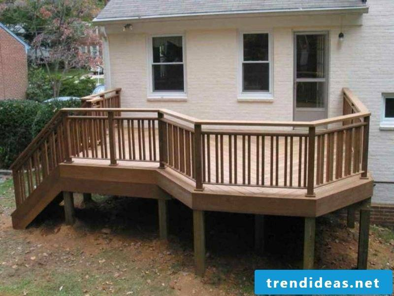 patio railing wooden porch railings
