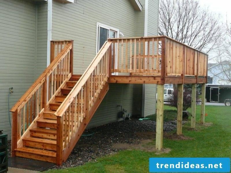 terrace railing lowes deck railing