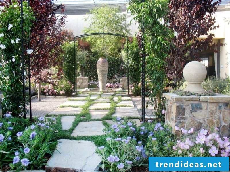 creative terraced planting