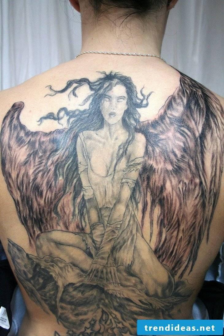 Angel Tattoos Wing
