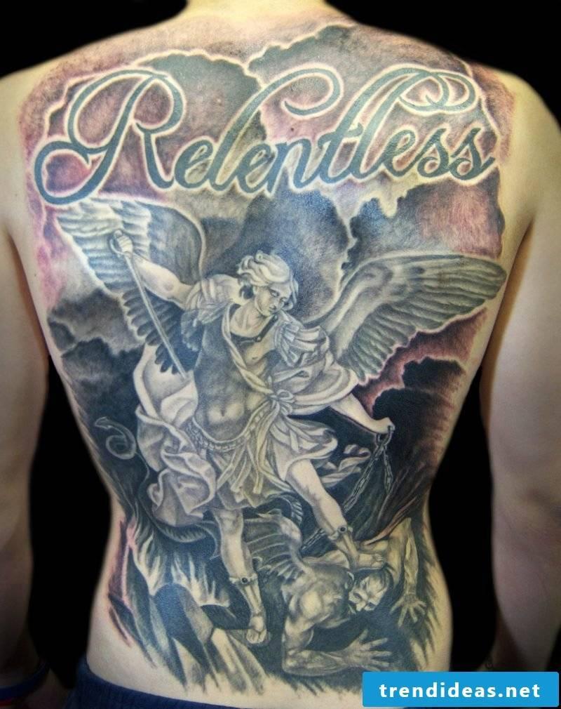 Angel Tattoos Gross