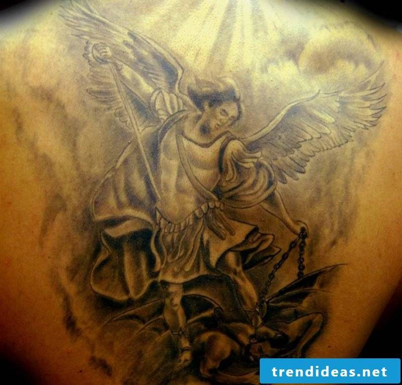 Angel Tattoos Guardian Angel