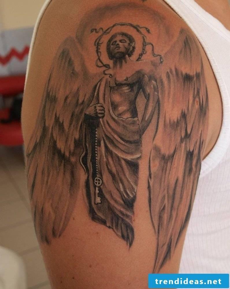 Angel Tattoos Schulder