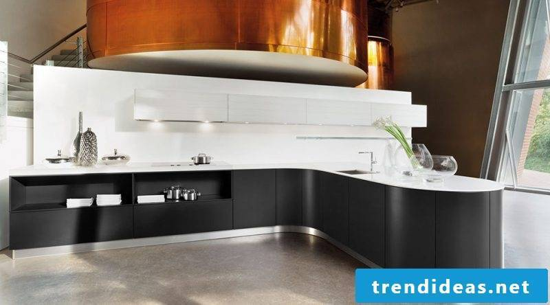 Kitchen brands Haecker black and white