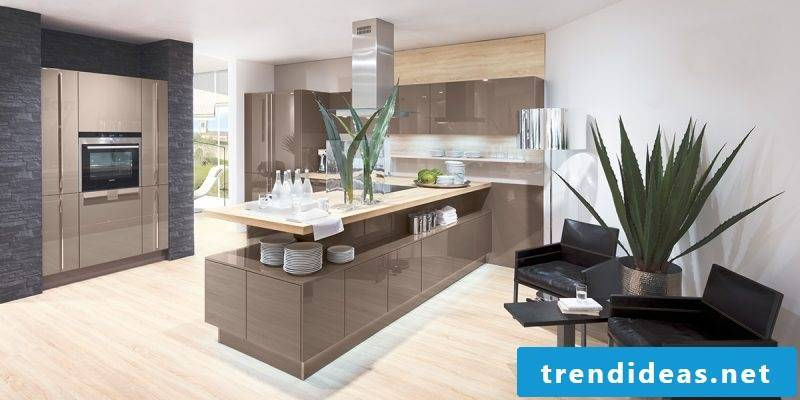 Kitchen brands Nolte wood