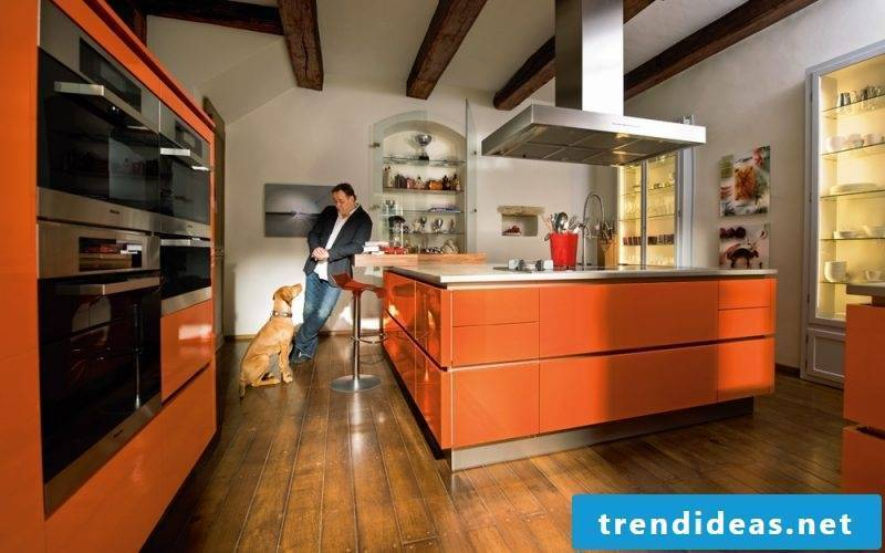 Kitchen brands orange