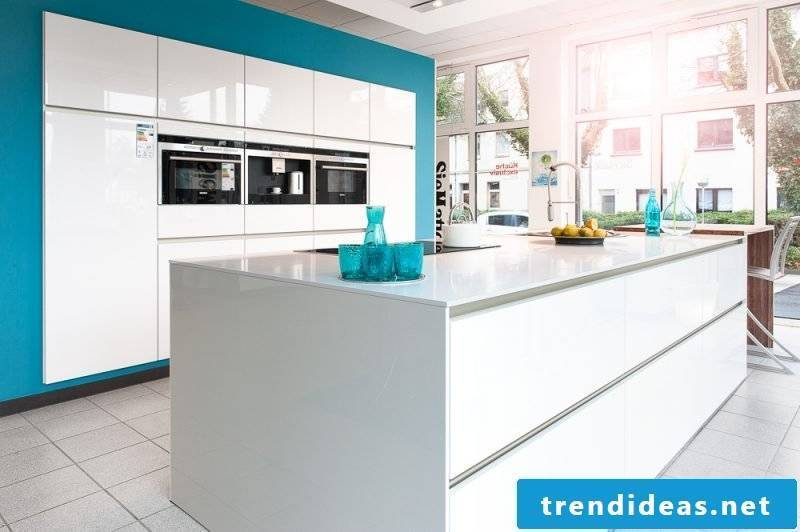 Kitchen brands Siematic white blue