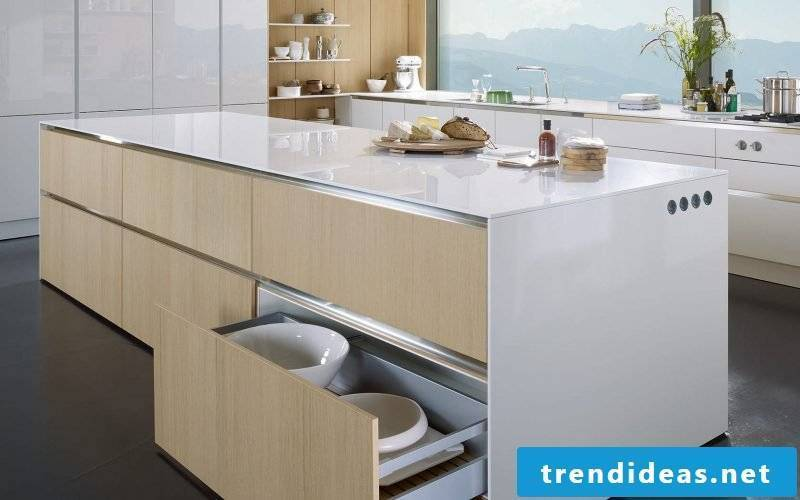 Kitchen brands white wood