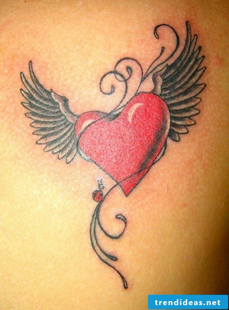 Heart tattoo ideas and inspirations