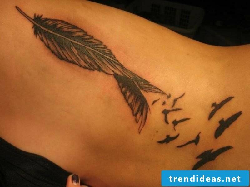 original tattoo pen and birds