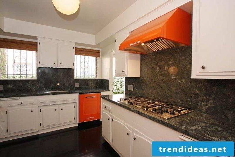 Bosch retro refrigerator Orange