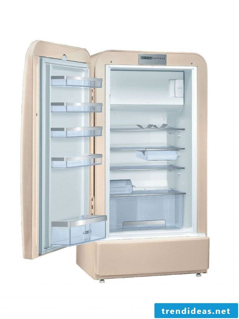 Bosch retro refrigerator new design