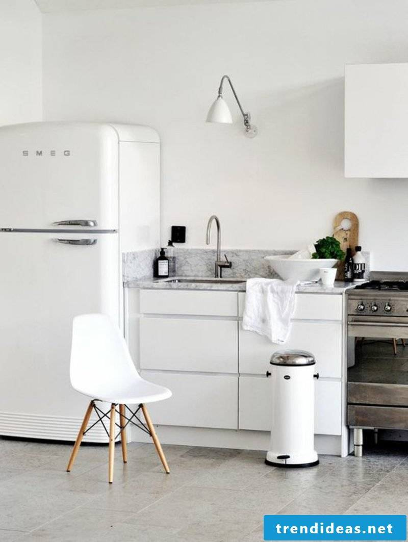 Bosch Retro Fridge White